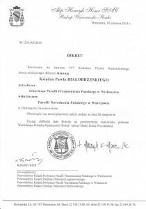 Ks. Paweł Białobrzeski